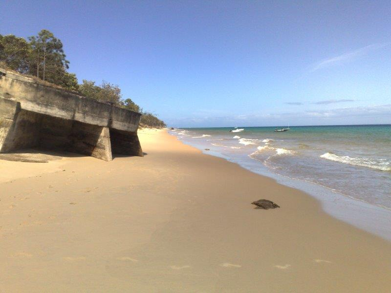 Cowan Base Huts at Moreton Island