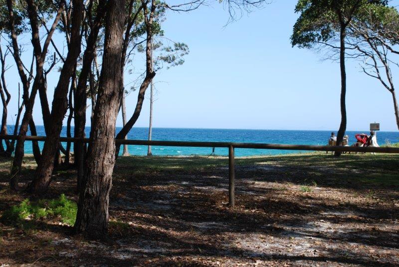 Cowan Base Huts at Moreton Island
